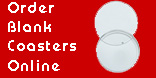 Order blank coasters on-line